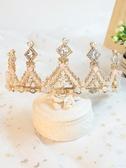 皇冠頭飾 兒童發飾公主王冠發箍小女孩發卡生日女童水鉆頭箍發梳皇冠頭飾品 交換禮物