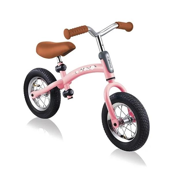 Globber 哥輪步 GO-BIKE AIR 充氣胎兩用滑步車-櫻花公主粉[衛立兒生活館]