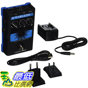 [美國直購] TC Electronics C1 效果器 Singles VoiceTone Vocal Effects Processor