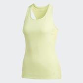 ADIDAS SUPERNOVA 37C TANK 螢光黃 訓練 透氣 運動 背心 女(布魯克林) CG1118