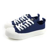 KANGOL 休閒鞋 帆布 女鞋 深藍色 厚底 6952200180 no030