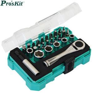 Pro sKit 寶工 SD-2318M 27PCS棘輪套筒起子組