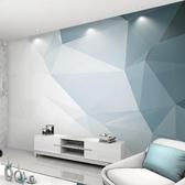 北歐幾何電視背景墻線條壁紙客廳