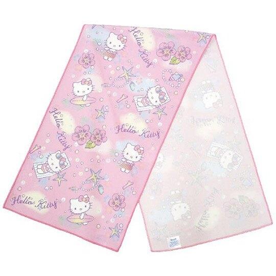 Hello Kitty 涼感毛巾