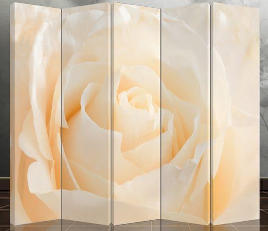 五扇屏風-浪漫玫瑰504