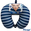 Verage 維麗杰 四合釦雙色按摩頸枕 (H海藍)