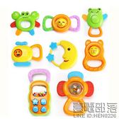 手搖鈴嬰兒玩具0-3-6-12個月寶寶男女孩4益智牙膠1歲新生兒幼兒5