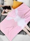浴巾 浴巾純棉吸水家用女紗布裹巾不掉毛可穿情侶成人少女卡通兒童可愛 米家