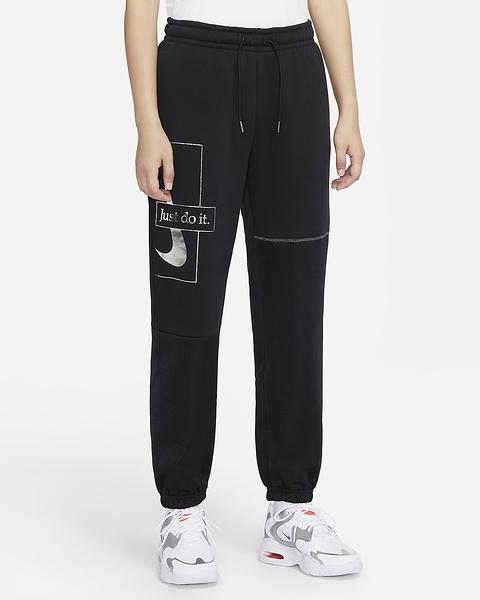 Nike Sportswear Icon Clash 女裝 長褲 棉質 休閒 印花 黑【運動世界】DC0655-010