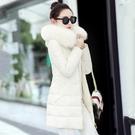 連帽外套 棉襖女好康推薦新款羽絨棉服中長版大毛領棉衣女正韓冬季外套加厚上衣