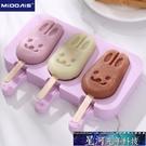 冰激凌模具 雪糕模具家用做兒童冰棒冰棍冰淇淋冰糕的凍冰塊可愛自制硅膠磨具 星河光年