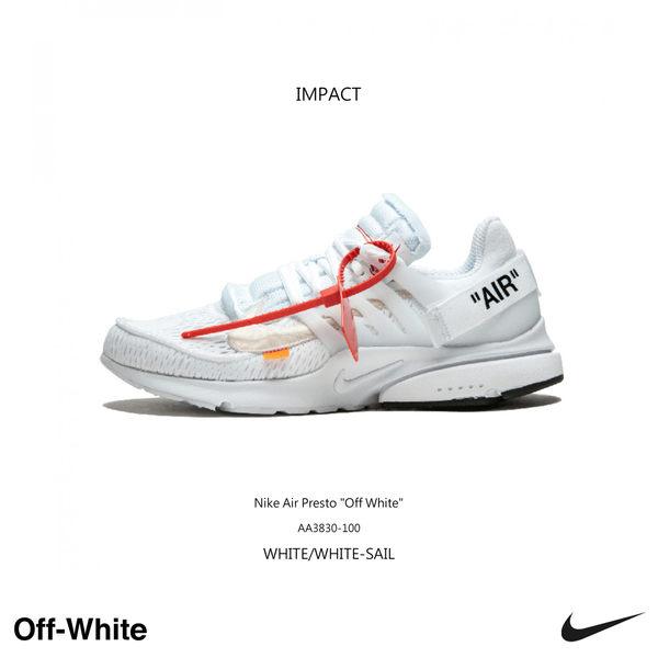 IMPACT Nike Air Presto x OFF-WHITE The Ten 魚骨 白 AA3830-100
