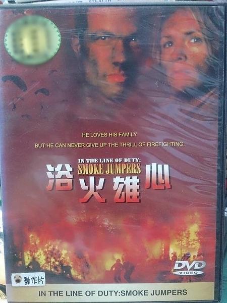 挖寶二手片-T01-296-正版DVD-電影【浴火雄心】-(直購價)