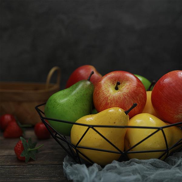 【BlueCat】仿真水果 大蘋果 西洋梨 橡果 拍照道具