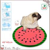 KOJIMA 狗貓超涼舒適果凍凝膠軟式涼墊涼床消暑西瓜 40x40cm 貴賓臘腸