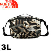 【The North Face 美國 3L 多功能腰包 復古印花《黑》】CJ4X/運動腰包/旅遊腰包/腰包★滿額送