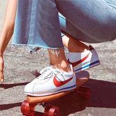 NIKE Classic Cortez Leather OG 女 白皮 復古 女 休閒鞋 807471-103 -SP-