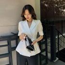 小西裝外套女設計感小眾新款夏季韓版網紅小...