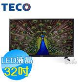 TECO東元 32吋 TL32K3TRE LED液晶顯示器 液晶電視(含視訊盒)