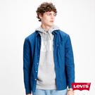 Levis 男款 長袖襯衫 / 修身版型 / 精工藍染 / 簡約單口袋