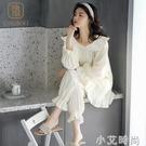 純禧睡衣女春秋純棉夏季家居服女士兩件套裝可出門可愛休閒網紅 小艾新品