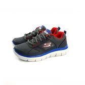 大童款 SKECHERS 97454LNVBL 輕量透氣 慢跑鞋《7+1童鞋》B901 灰色