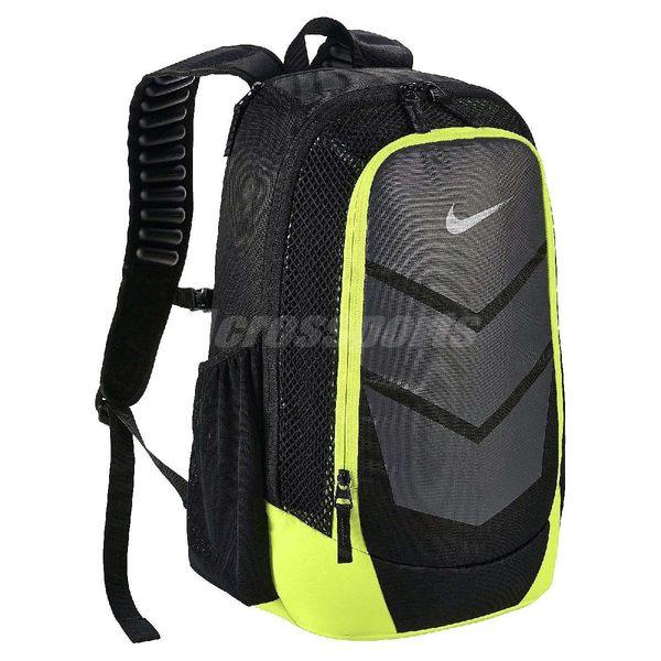 585404a075 Nike 後背包Vapor Speed 黑灰螢光綠Max Air 氣墊背帶包包