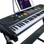 兒童電子琴玩具女孩鋼琴初學者2寶寶彈奏音樂玩具琴igo 全館免運