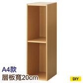 【DIY】22cm彩色櫃 COLOBO SLIM A4-雙層櫃 NA NITORI宜得利家居