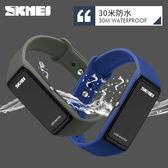 男女學生防水LED電子錶潮流時尚輕巧便利戶外運動中性腕錶 igo 全館免運