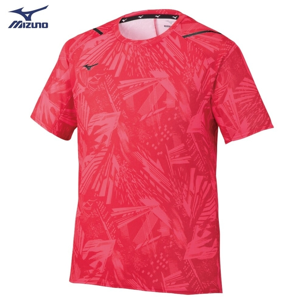 MIZUNO 男裝 短袖 T恤 世界大會 透氣 散熱 紅【運動世界】32MA052062
