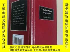 二手書博民逛書店Time罕見for Outrage 憤怒的時候到了Y7957 S