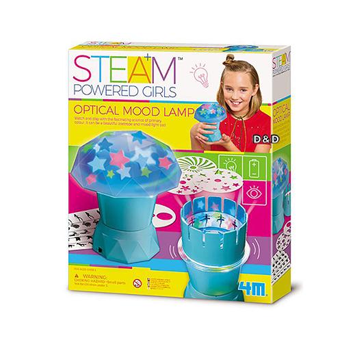 《4M科學探索》光學幻影燈 Optical Mood Lamp╭★ JOYBUS玩具百貨