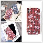 【SZ14】r韓系流行格子紋 iphone XS MAX手機殼 iphone XR XS手機殼 iphone 8plus手機殼 i6s plus手機殼 iphone X