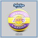 SPALDING 籃球 NBA 新款 隊徽球 湖人 黃紫 7號球 SPA83510【Speedkobe】