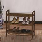 ONE HOUSE-DIY-實木三層鞋架