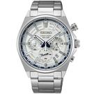 SEIKO 精工 140週年限量 計時腕錶 SSB395P1 / 8T63-00S0S