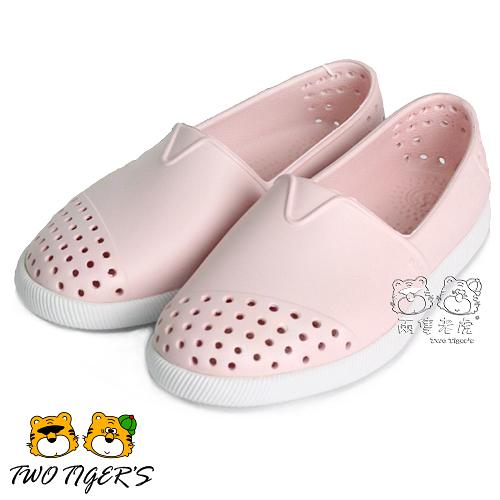 Native VERONA CHILD 小水手鞋 防水 小童鞋–牛奶粉 NO.R2526
