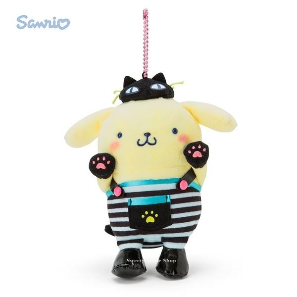 日本限定  三麗鷗 布丁狗 萬聖節系列 珠鍊吊飾玩偶