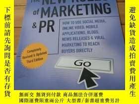 二手書博民逛書店The罕見New Rules of Marketing&pr How to Use Social Med