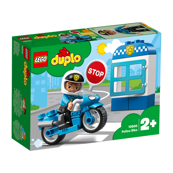 LEGO樂高 得寶系列 10900 警察摩托車 積木 玩具