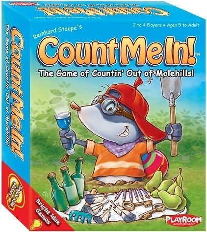 【Playroom】Count Me In! 桌上遊戲