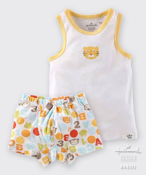Hallmark Babies 男童夏季無袖家居服系列套裝(上衣+下著) HD1-M26-02-KB-PO