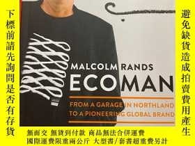 二手書博民逛書店ECOMAN罕見TO A PIONEERING GLOBAL BRAND FROM A GARAGE IN NOR