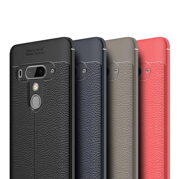 【SZ13】荔枝紋皮紋軟殼 HTC U12 plus手機殼 D12 plus軟殼 U11 plus手機殼 U11 Life U11 eyes手機殼 軟殼