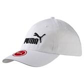 PUMA 白 黑 刺繡LOGO 棒球帽 老帽 可調 男女皆可戴 (布魯克林) 05291910