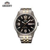 ORIENT 東方錶 OLD SCHOOL系列 三星復古風機械錶 鋼帶款 - 43.0 mm SAB0B005B