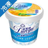 杜老爺低脂冰淇淋-芒果720±15g/桶【愛買冷凍】
