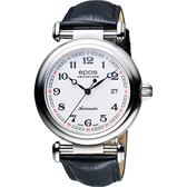 epos Originale 原創系列復刻版機械腕錶-白x黑/42mm 3430.130.20.30.25FB