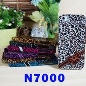 【特價】SAMSUNG GALAXY NOTE N7000 I9220 豹紋蝴蝶結  保護殼 手機殼 軟殼 背蓋 透明 手機套